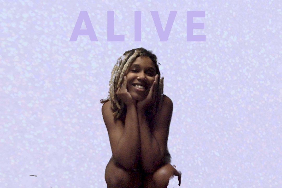 2019-20 artist in residence E Jane figure against purple background