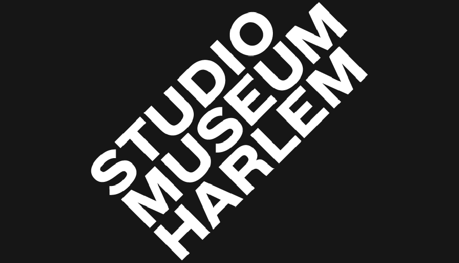 Studio Museum Logo Against black background