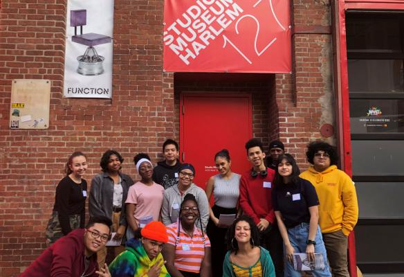 Expanding the Walls 2020 teens group shot